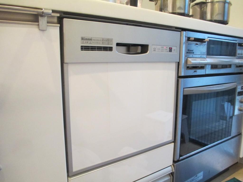 リンナイ製食器洗い乾燥機 RKW-403A-SV