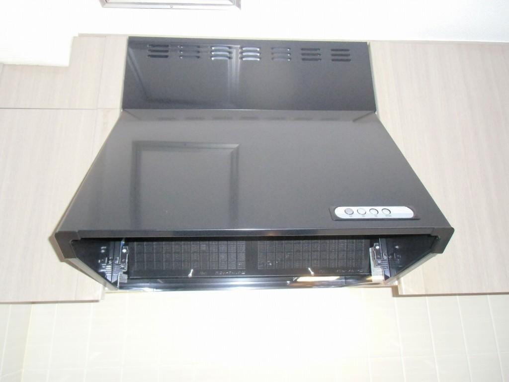 富士工業製レンジフード BDR-3HL-601BK