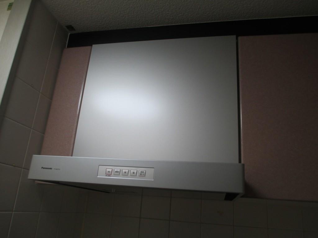 Panasonic製レンジフード FY-6HTC3-S