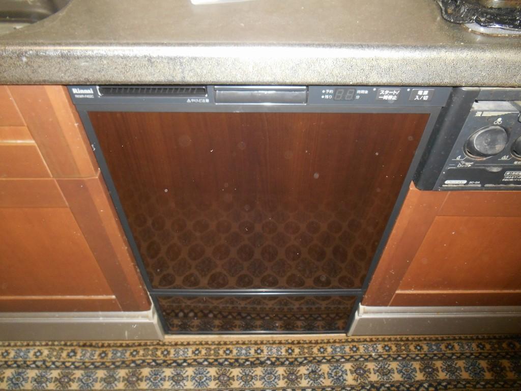 リンナイ製食器洗い乾燥機 RKWR-F402C