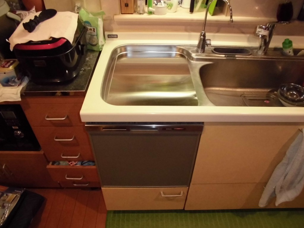 Panasonic製食器洗い乾燥機 NP-45MS7S