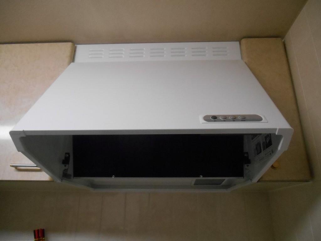 富士工業製レンジフード BDR-3HL-601W