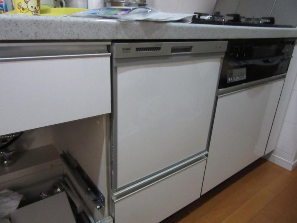 リンナイ製食器洗い乾燥機 RKW-404C-SV