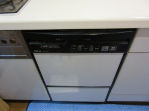 交換前食器洗い乾燥機