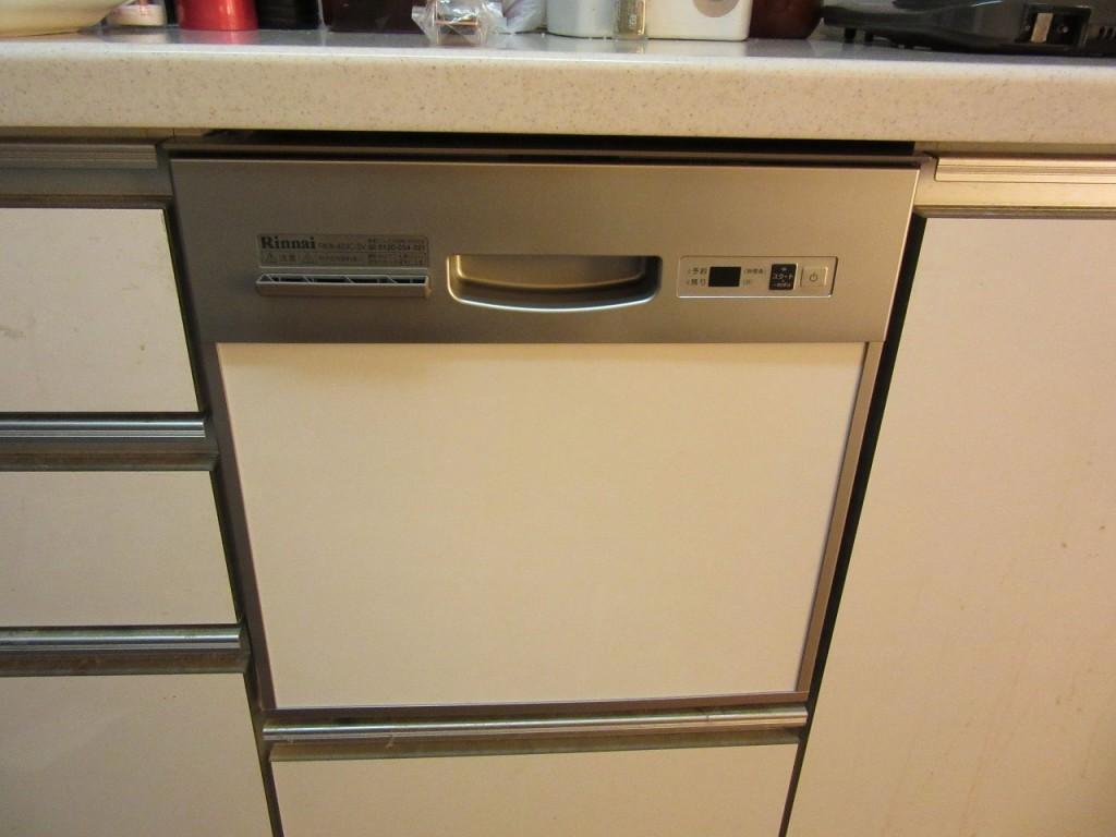 リンナイ製食器洗い乾燥機 RKW-403C-SV