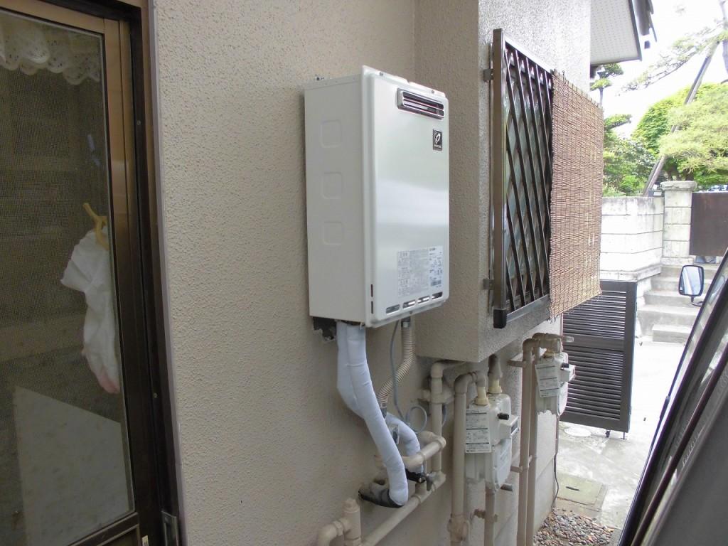 パーパス製給湯器 16号屋外壁掛給湯専用 GS-1600W-1