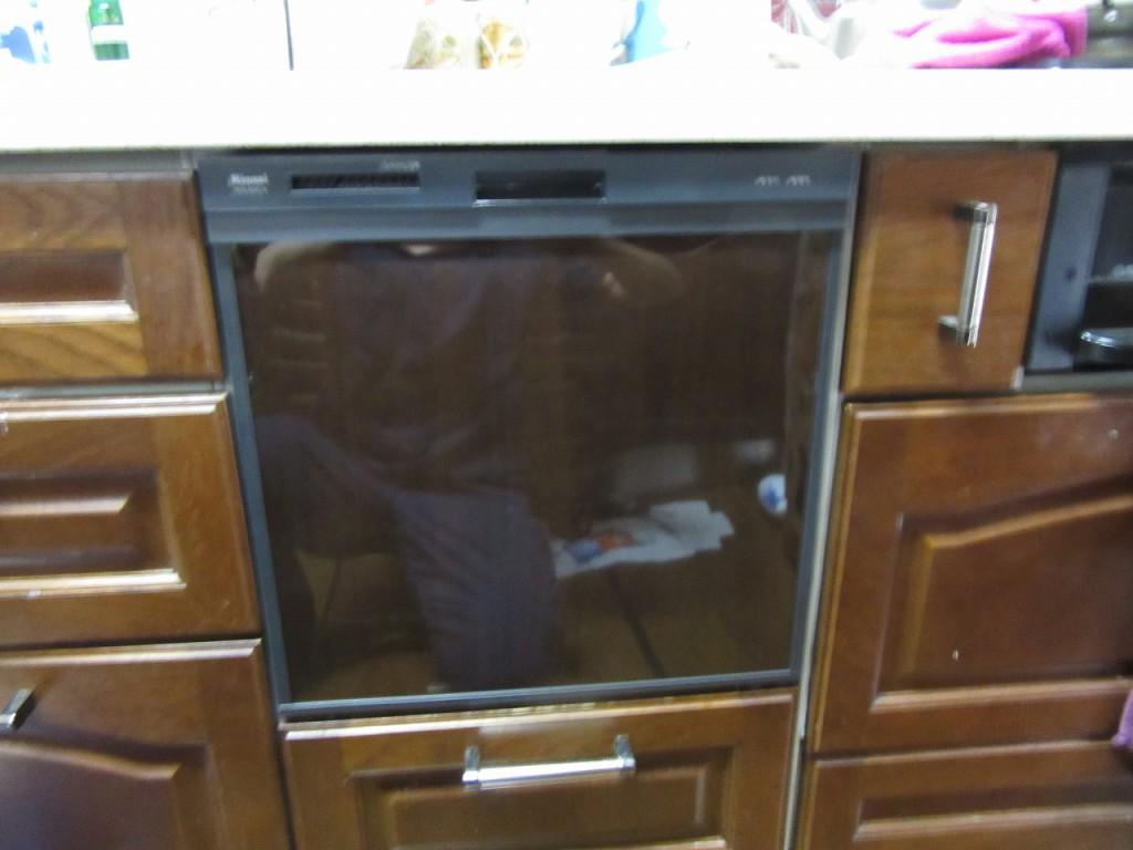 リンナイ製食器洗い乾燥機 RKW-404C-B