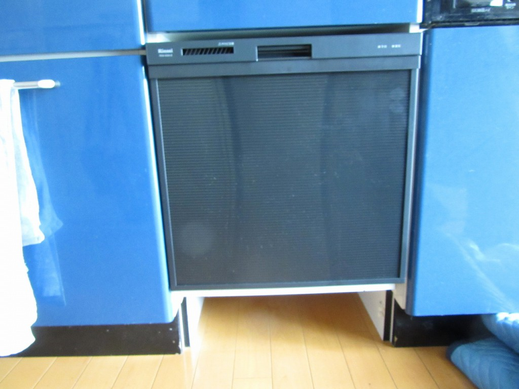 リンナイ製食器洗い乾燥器 RKW-404A-B