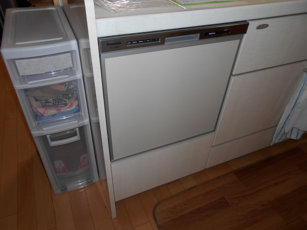 Panasoc製食器洗い乾燥機 NP-45MS8S