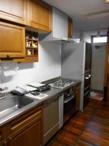 交換後コンロ、オーブン、レンジフード、食器洗い乾燥機