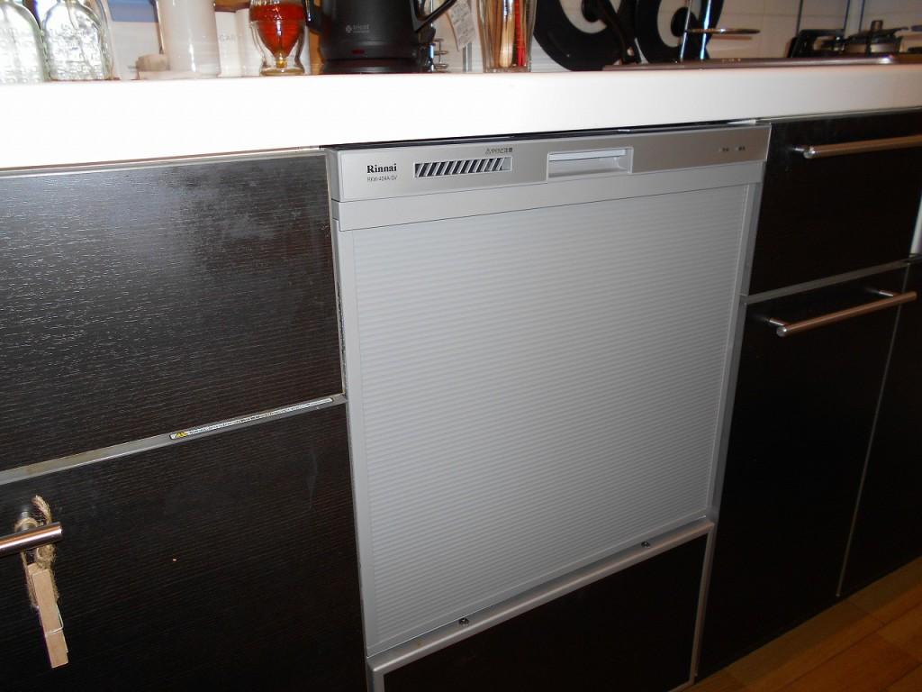 リンナイ製食器洗い乾燥機 RKW-404A-SV