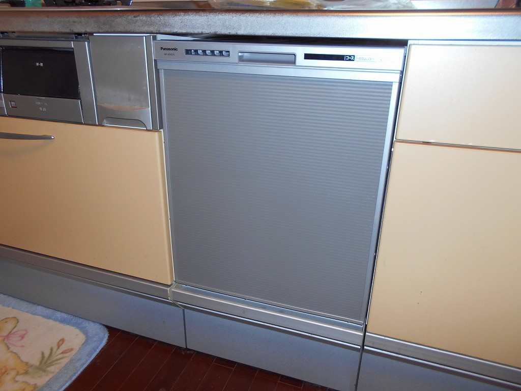 Panasonic製 ビルトイン食器洗い乾燥機 NP-45VD7S