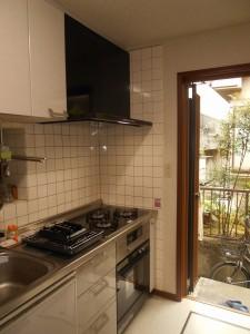 交換後コンロ、オーブン、食器洗い乾燥機