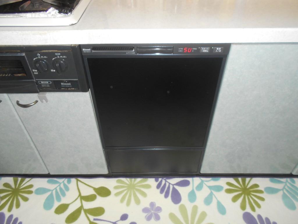 リンナイ製食器洗い乾燥機 RSW-F402C-B