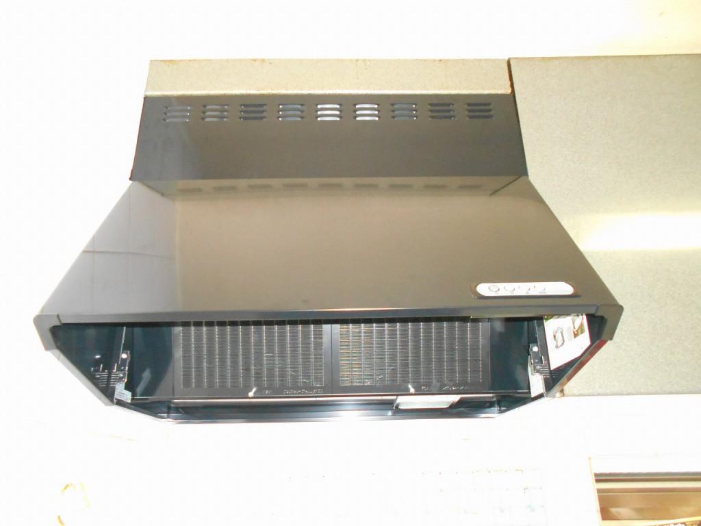 富士工業製レンジフード BDR-3HL-751BK