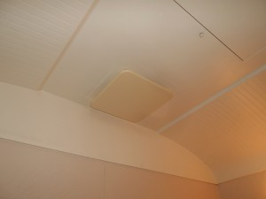 交換前浴室換気扇