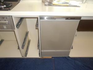食器洗い乾燥機設置