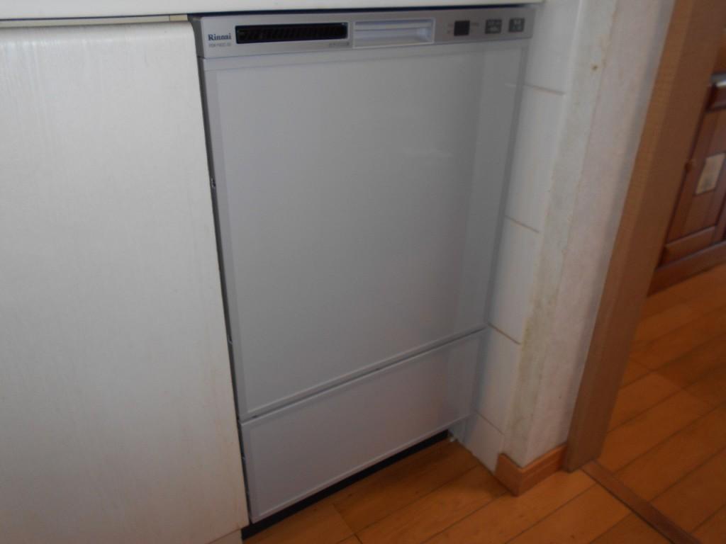 リンナイ製食器洗い乾燥 RSW-F402C-SV
