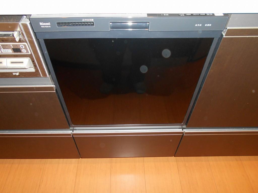 リンナイ製食器洗い乾燥機 RKW-404A-B