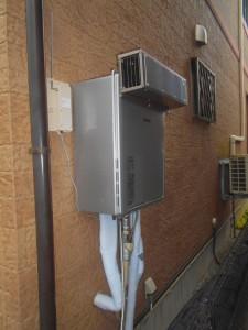 リンナイ製給湯器24号屋外壁掛オートタイプ RUF-E2406SAW