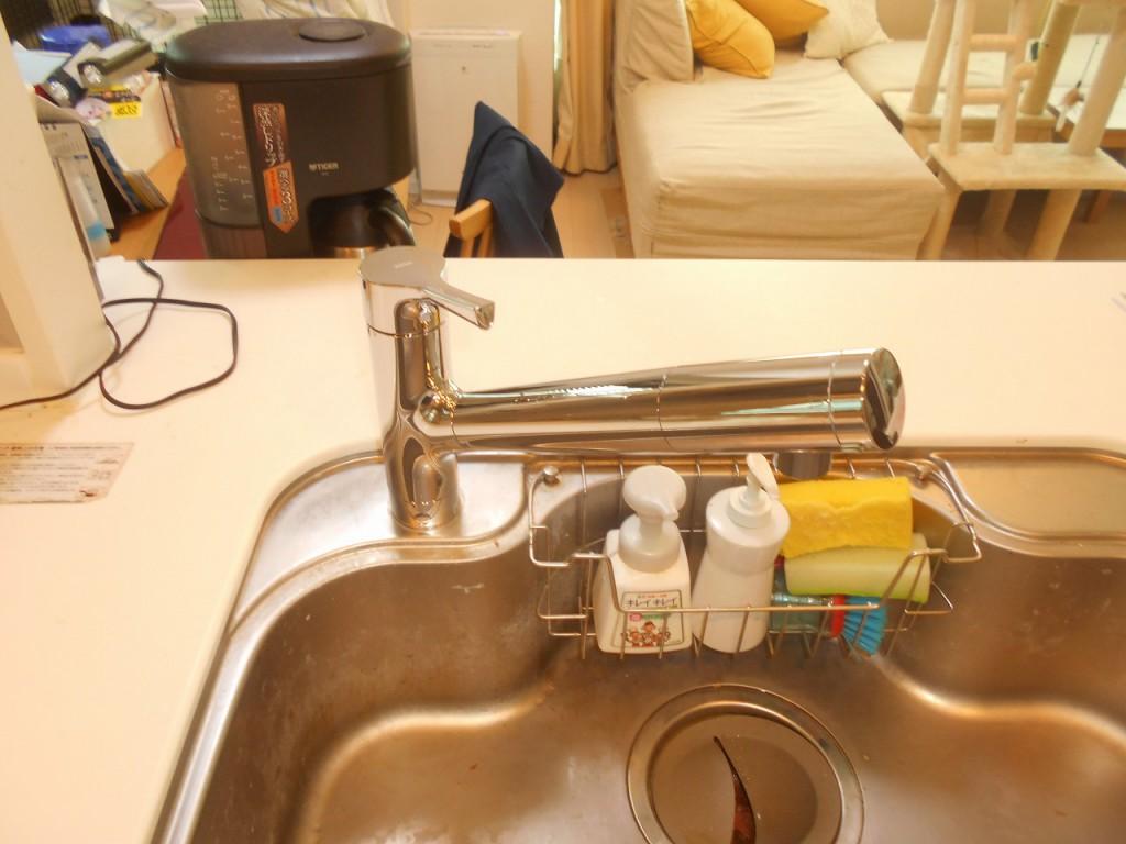 TOTO製浄水機能付水栓 TKS05308J