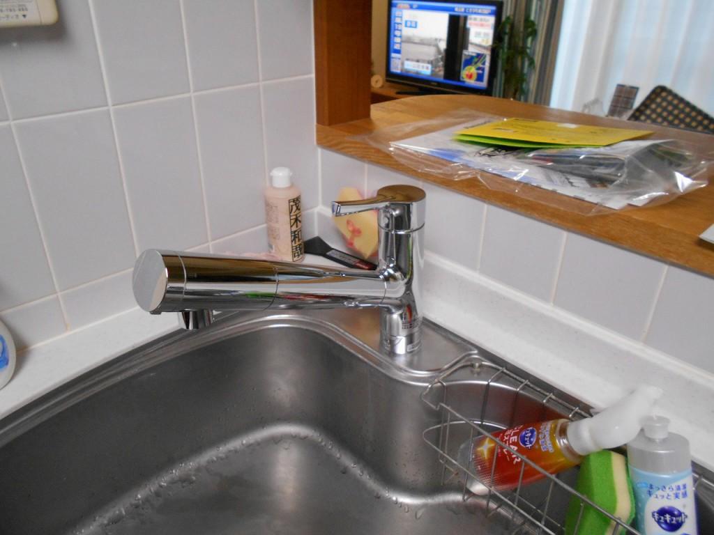 TOTO製キッチン水栓 TKS05308J