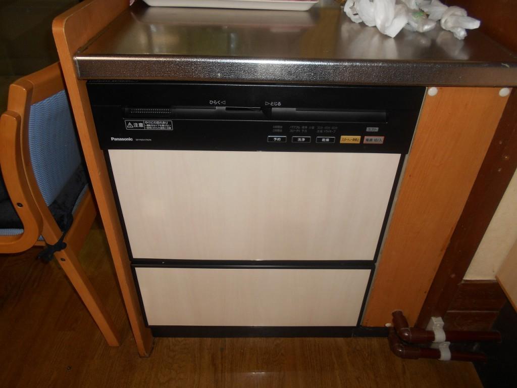 Panasonic製食器洗い乾燥機 NP-P60V1PKPK