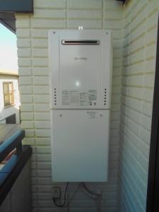 ノーリツ製給湯器24号屋外壁掛オートタイプ GT-2460SAWX-1-BL