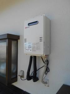 ノーリツ製給湯器16号屋外壁掛給湯専用 GQ-1637WS